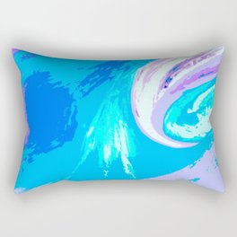 Abstract Untitled Creation by Robert S. Lee Rectangular Pillow