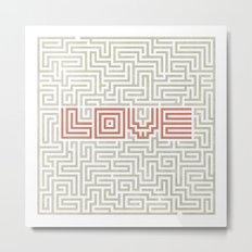 Love game Metal Print