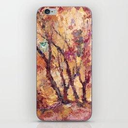 autumn 2 iPhone Skin