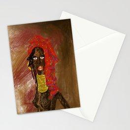 LA MUJER AFRICANA Stationery Cards