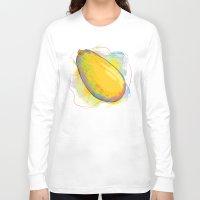 vietnam Long Sleeve T-shirts featuring Vietnam Papaya by Vietnam T-shirt Project