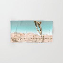 Vintage Desert Scape // Cactus Nature Summer Sun Landscape Photography Hand & Bath Towel