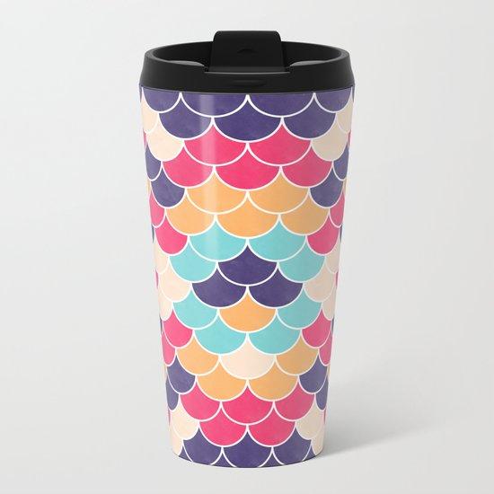 Lovely Pattern VVXVV Metal Travel Mug
