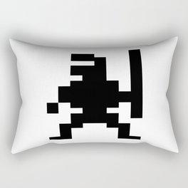 Pixel Ninja Rectangular Pillow