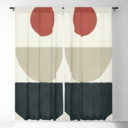 Geometric Modern Art 30 Blackout Curtain