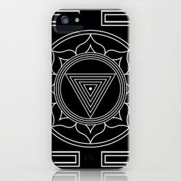 Kali yantra black symbol iPhone Case