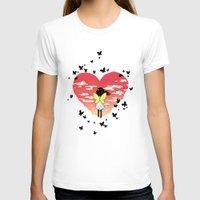 butterflies T-shirts featuring Butterflies by Freeminds