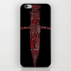 Shakespeare's Macbeth  iPhone & iPod Skin