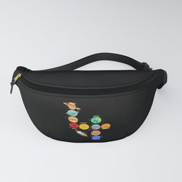 Children 4 Years Old Birthday Boy Space Fanny Pack