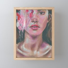 dysmorphia Framed Mini Art Print