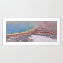 Winter Yellowstone National Park  PANORAMA Art Print