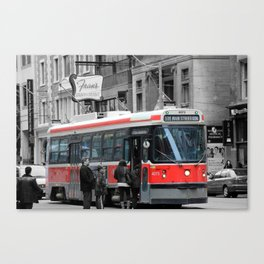 Red Rocket 3b Canvas Print