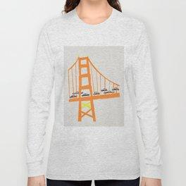 Golden Gate Bridge Long Sleeve T-shirt