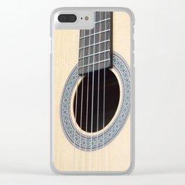 Classical Guitar Clear iPhone Case