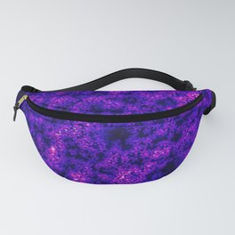 Queen Anne's Lace in Blue and Purple Fanny Pack