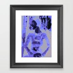 NY Woman Framed Art Print