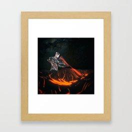 POWER LVL 5 Framed Art Print