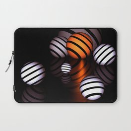reflections and spheres -1- Laptop Sleeve