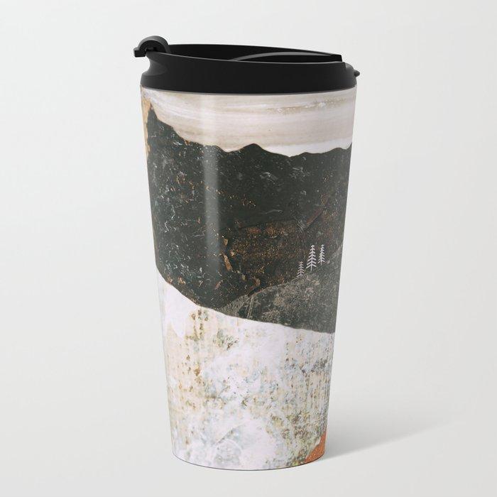 Desert Snow Metal Travel Mug