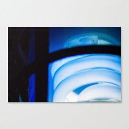 Blue Light District Canvas Print