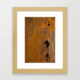 Holy Rusted Metal Framed Art Print