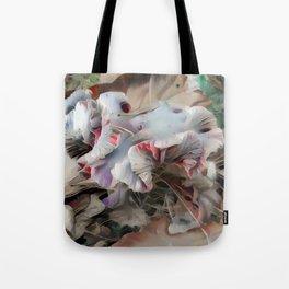 Warped Laccaria Tote Bag