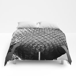 Spaceship Earth Comforters