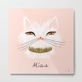Miau Metal Print