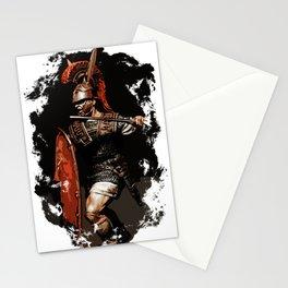 Roman Legionary at War Stationery Cards