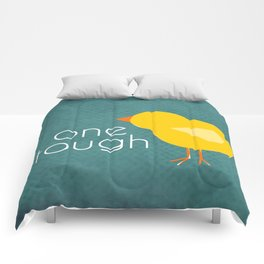 One Tough Chick Comforters