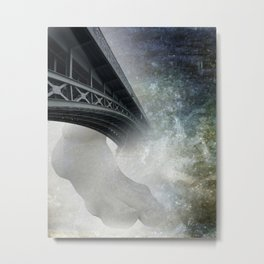 the walking bridge Metal Print