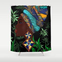 African woman art Shower Curtain