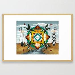 Mni Wiconi ~ Water is Life Framed Art Print