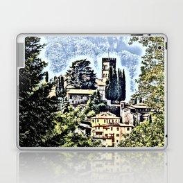 Duomo of Barga (dramatic) Laptop & iPad Skin