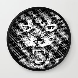 Cat Kat Cat Wall Clock