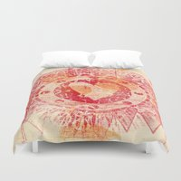 mac Duvet Covers featuring For Mac by Kim Codner Designs