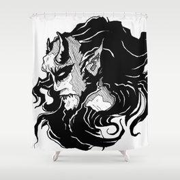 Demon Shower Curtain