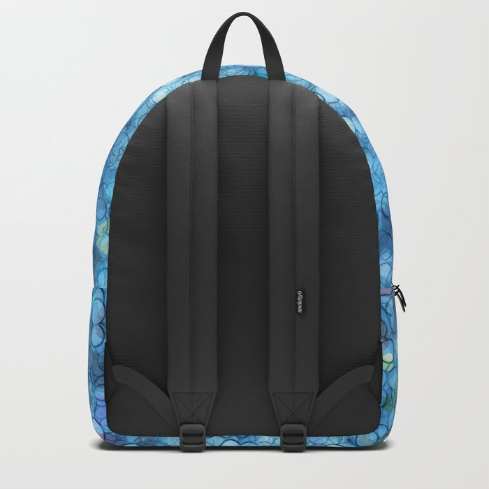 Abstract circle #3 Backpack