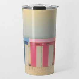 Beach cabins Malo Travel Mug
