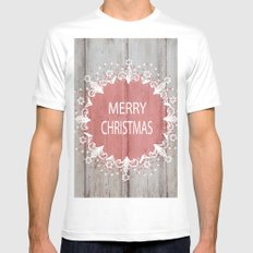 Merry Christmas #2 Mens Fitted Tee White MEDIUM