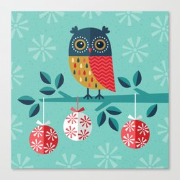 WOOHOO IT'S CHRISTMAS! Canvas Print