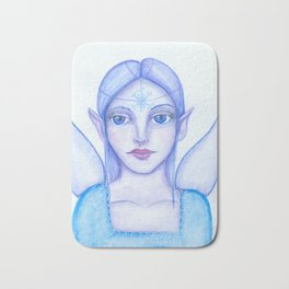 Snow fairy Bath Mat