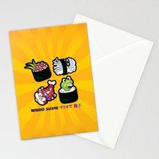 Super Mario Sushi Stationery Cards
