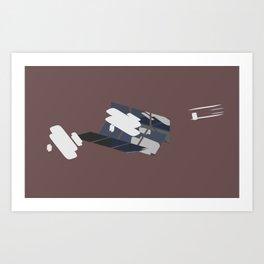 flyer 1 Art Print
