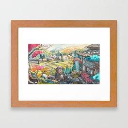 Majik 01 Framed Art Print