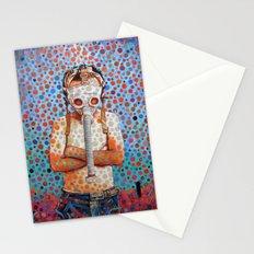 Niño después del Tsunami Stationery Cards