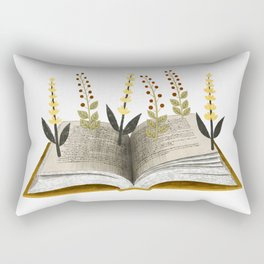 floral reading ii Rectangular Pillow