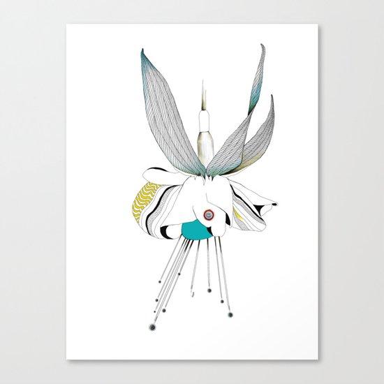 Fushieared Canvas Print