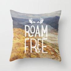 Roam Free NZ Throw Pillow