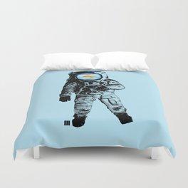 Goldfish Astronaut Duvet Cover